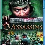 Carátula de la edición inglesa (UK) de 13 Assassins