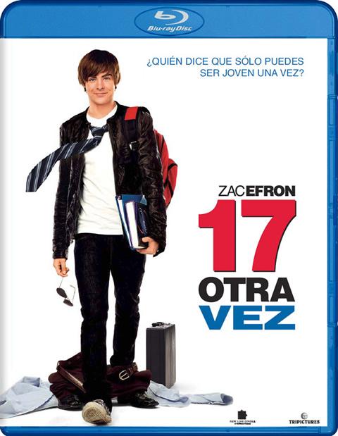 Carátula 17 otra vez Blu-ray