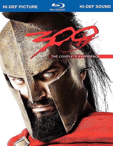Carátula 300 La experiencia completa Blu-ray