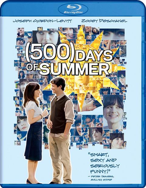 Carátula 500 días juntos Blu-ray