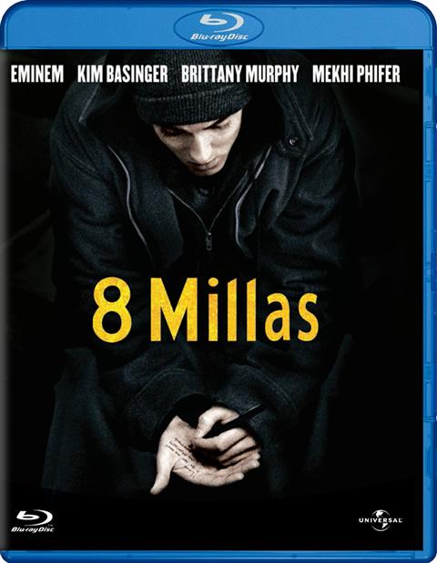 Carátula 8 Millas Blu-ray
