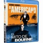 Pack El Americano+El Mito de Bourne_BD_3D