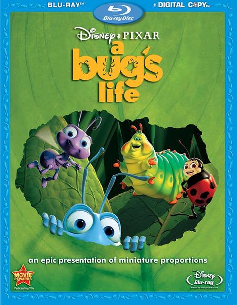 Carátula Bichos Blu-ray