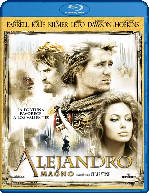 Carátula Alejandro Magno Blu-ray