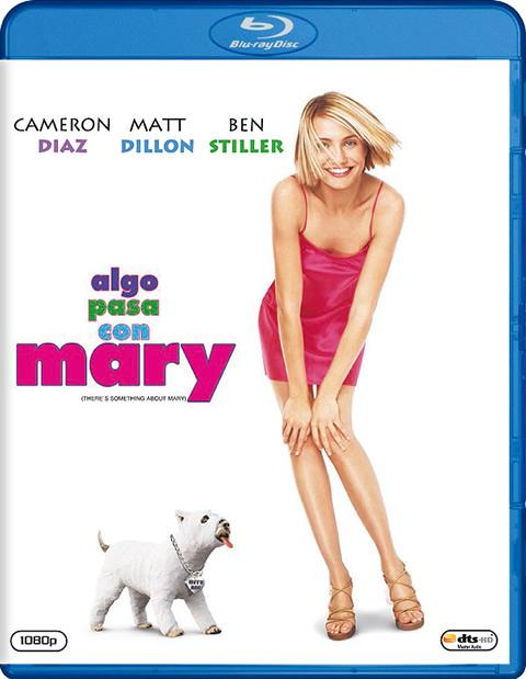 Carátula Algo pasa con Mary Blu-ray