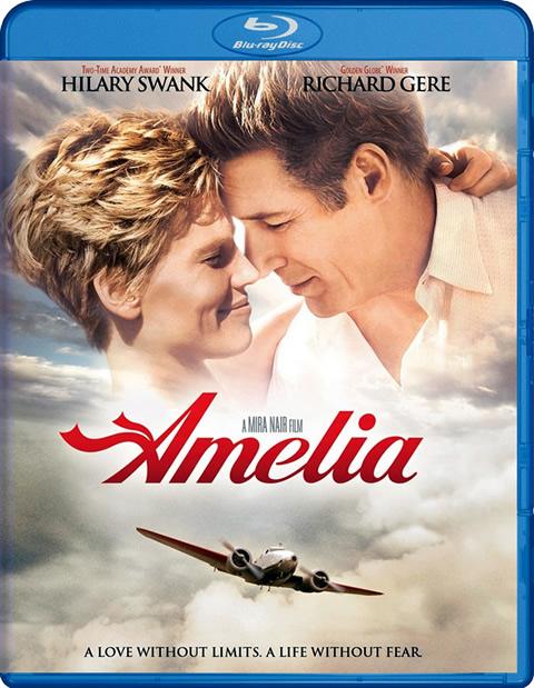 Carátula Amelia Blu-ray