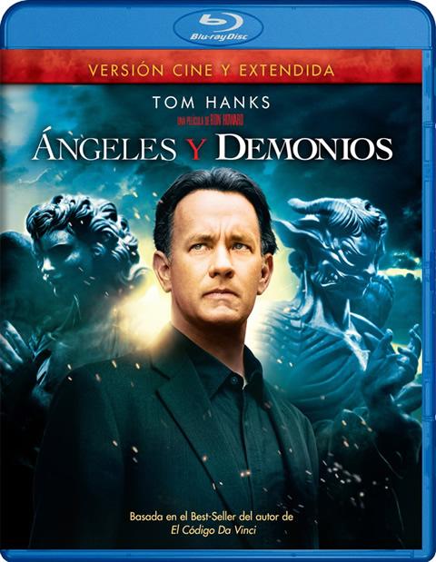 Carátula Ángeles y demonios Blu-ray