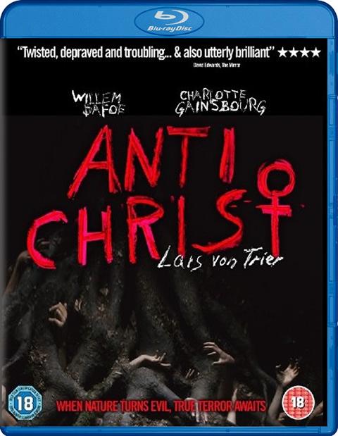 Carátula Anticristo Blu-ray