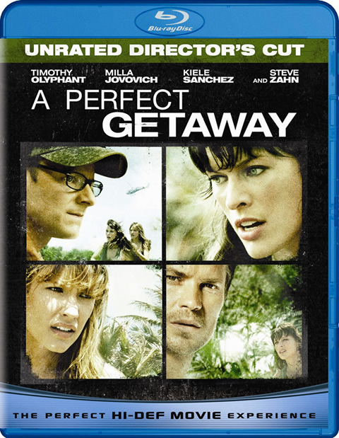 Carátula A Perfect Getaway Blu-ray