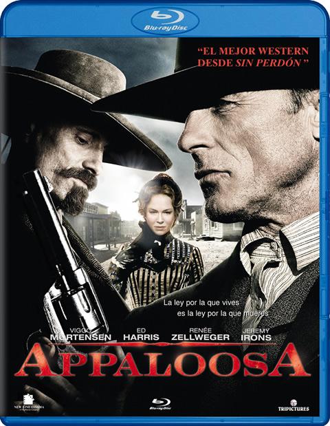 Carátula Appaloosa Blu-ray