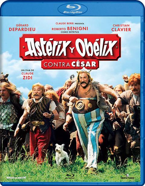Carátula Astérix y Obélix contra César Blu-ray