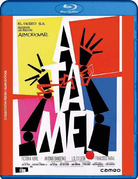 Carátula Átame Blu-ray