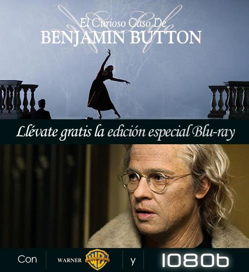 El curioso caso de Benjamin Button Blu-ray