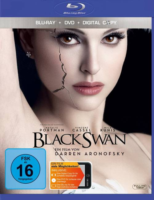 Edición Blu-ray Alemana de Black Swan