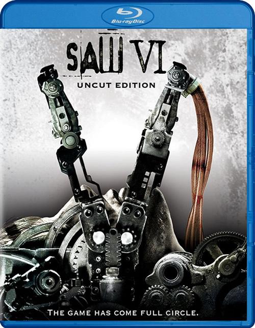 Carátula Blu-ray SAW VI