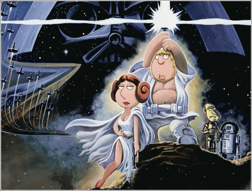 Creador de padre de família es un seguidor confeso de star wars