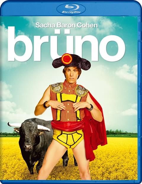 Carátula Brüno Blu-ray