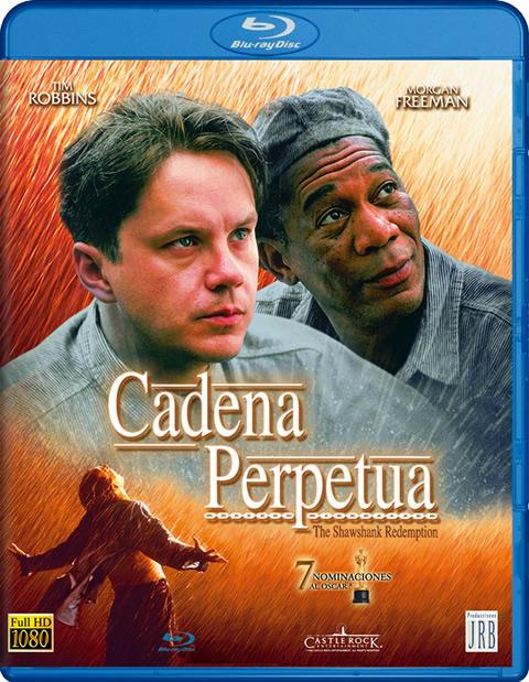 Carátula Cadena perpetua Blu-ray