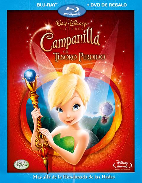 Carátula Campanilla y el tesoro perdido Blu-ray