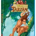 Tarzán de Disney en Blu-ray: Carátula y detalles