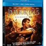 Immortals en Blu-ray y Blu-ray 3D: Carátulas y todos los detalles