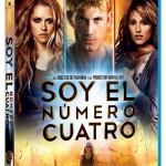 Soy el número cuatro en Blu-ray: Carátula y detalles