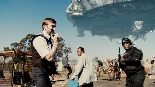 Carátula District 9 Blu-ray