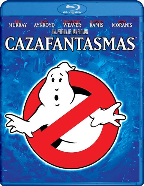 Carátula Cazafantasmas Blu-ray