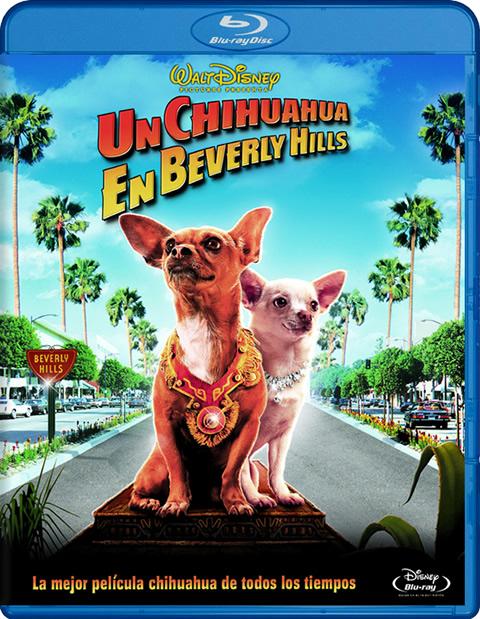 Carátula Un chihuahua en Beverly Hills Blu-ray