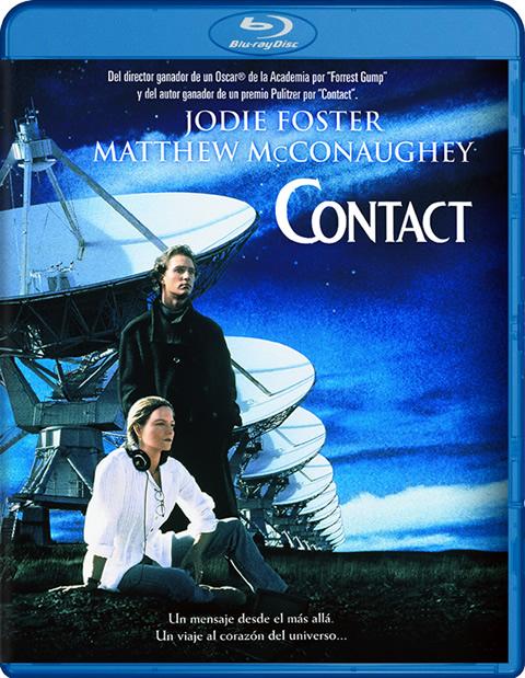 Carátula Contact Blu-ray