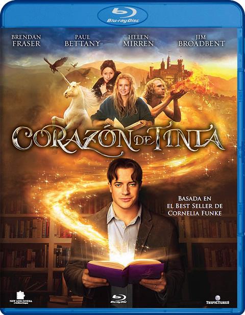 Carátula Corazón de tinta Blu-ray
