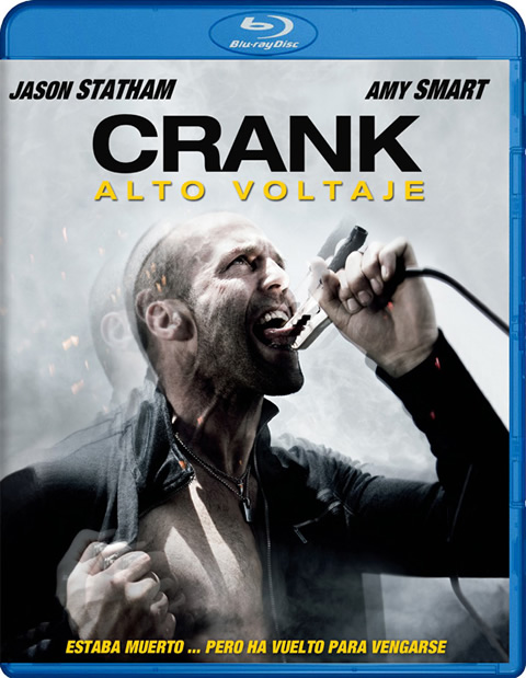 Carátula Crank 2 Alto voltaje Blu-ray