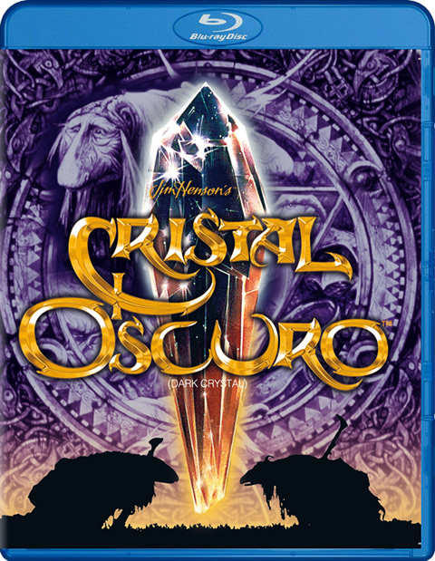 Carátula Cristal oscuro Blu-ray