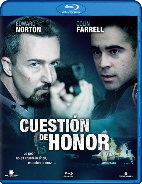 Carátula Cuetión de honor Blu-ray