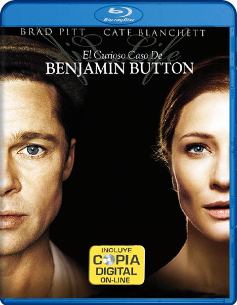 Carátula El curioso caso de Benjamin Button Blu-ray