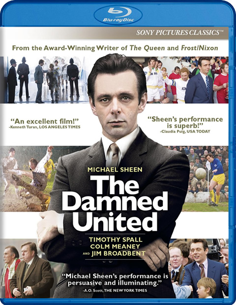 Carátula The Damned United Blu-ray