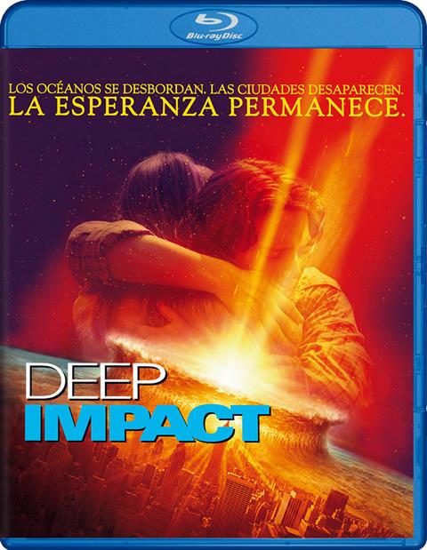 Carátula Deep Impact Blu-ray