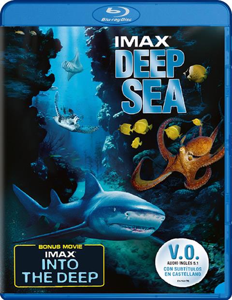 Carátula Deep Sea IMAX Blu-ray