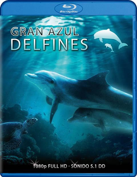 Carátula Delfines Blu-ray
