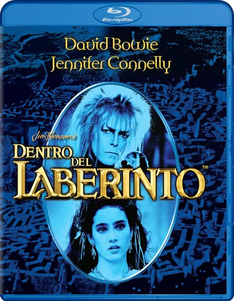 Carátula Dentro del laberinto Blu-ray