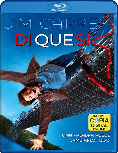Carátula Di que sí Blu-ray