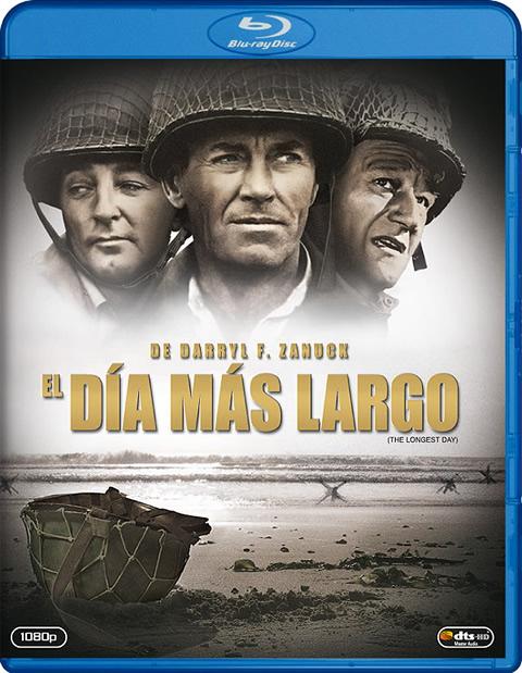 Carátula El día más largo Blu-ray