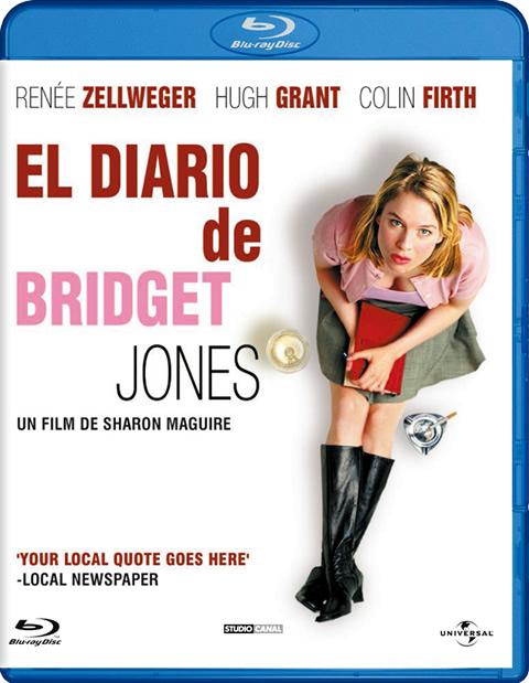 Carátula El diario de Bridget Jones Blu-Ray