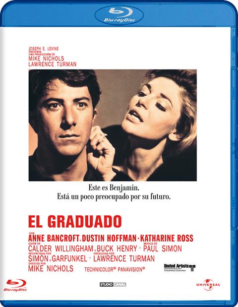 Carátula El graduado Blu-ray