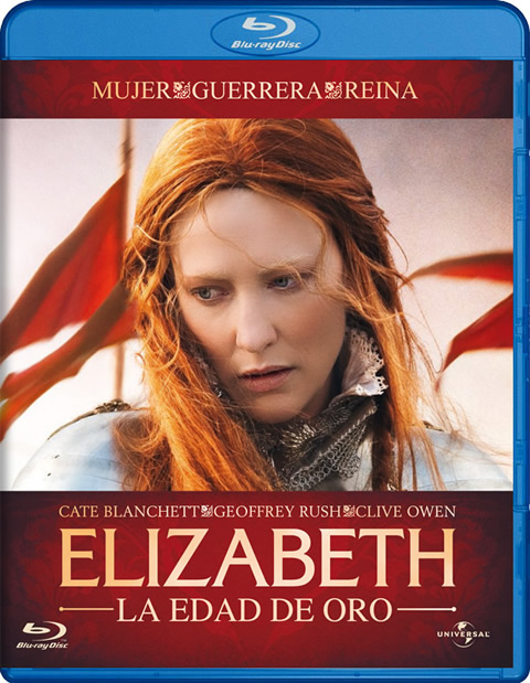 Carátula Elizabeth: La edad de oro Blu-ray