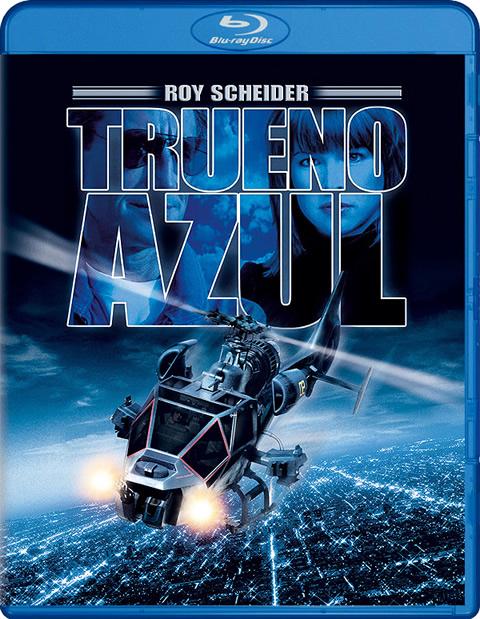 Carátula El trueno azul Blu-ray