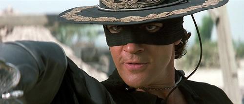 La máscara de Zorro Blu-ray