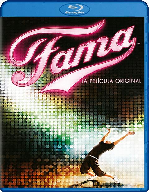 Carátula Fama Blu-ray