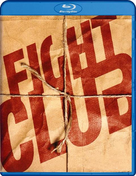 Carátula El club de la lucha Blu-Ray