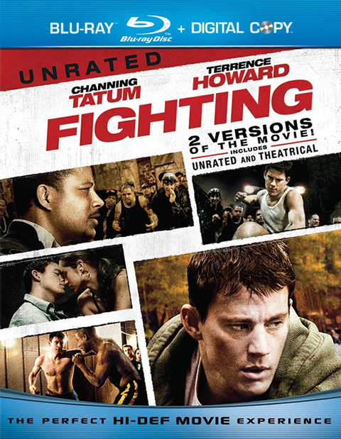 Carátula Fighting Blu-ray